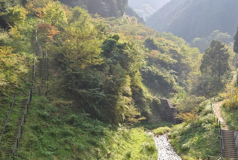水越川の谷