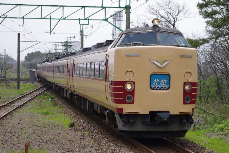485系(国鉄色)特急「北越」