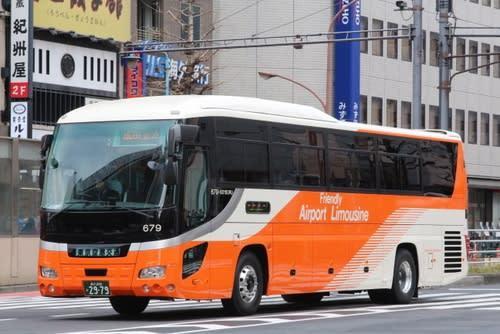 東京空港交通の新車 いすゞガー...