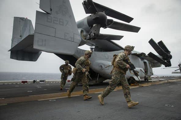 水陸機動団,第1ヘリコプター団,米海兵隊,第31海兵遠征部隊,31stMEU,共同訓練,USSAmerica,強襲揚陸艦,乗り物のニュース,働く乗り物,乗り物の話題,フリート,グランド,Fleet,万能論,Trafficn,news,Traffic,