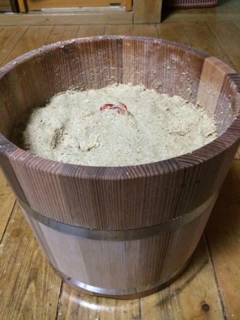 糠床を作る