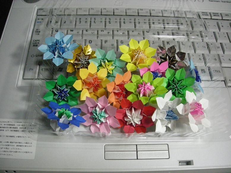 クリスマス 折り紙 折り紙で作る花 : blog.goo.ne.jp