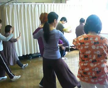 4月の太極拳教室