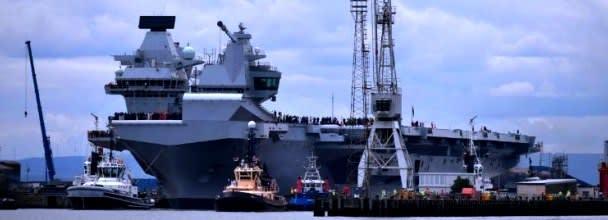 2017 07 29 英国、南シナ海に空母派遣の可能性 中国反発【岩淸水・保管記事】