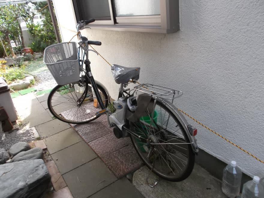 自転車 台風