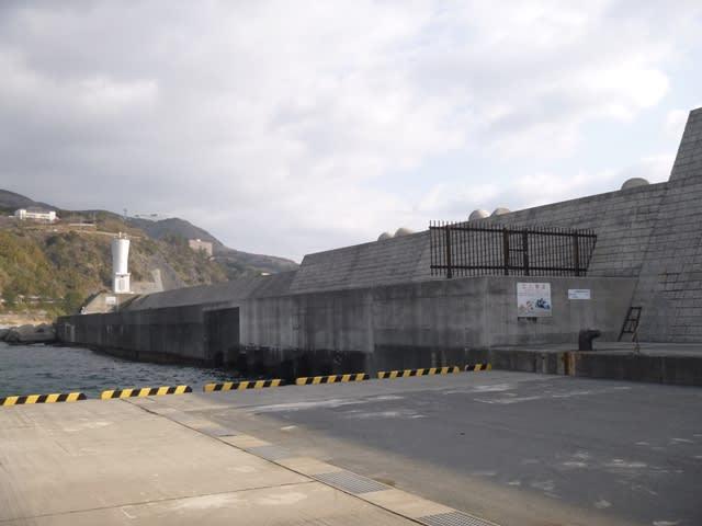 稲取港新堤防