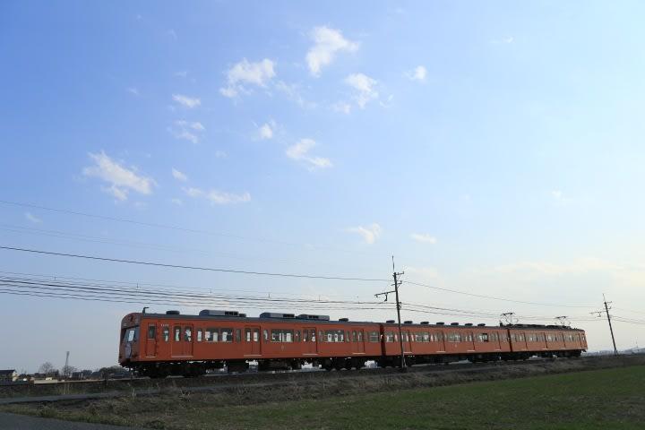 さよなら秩父鉄道1003F   オレンジ色の憎いヤツ