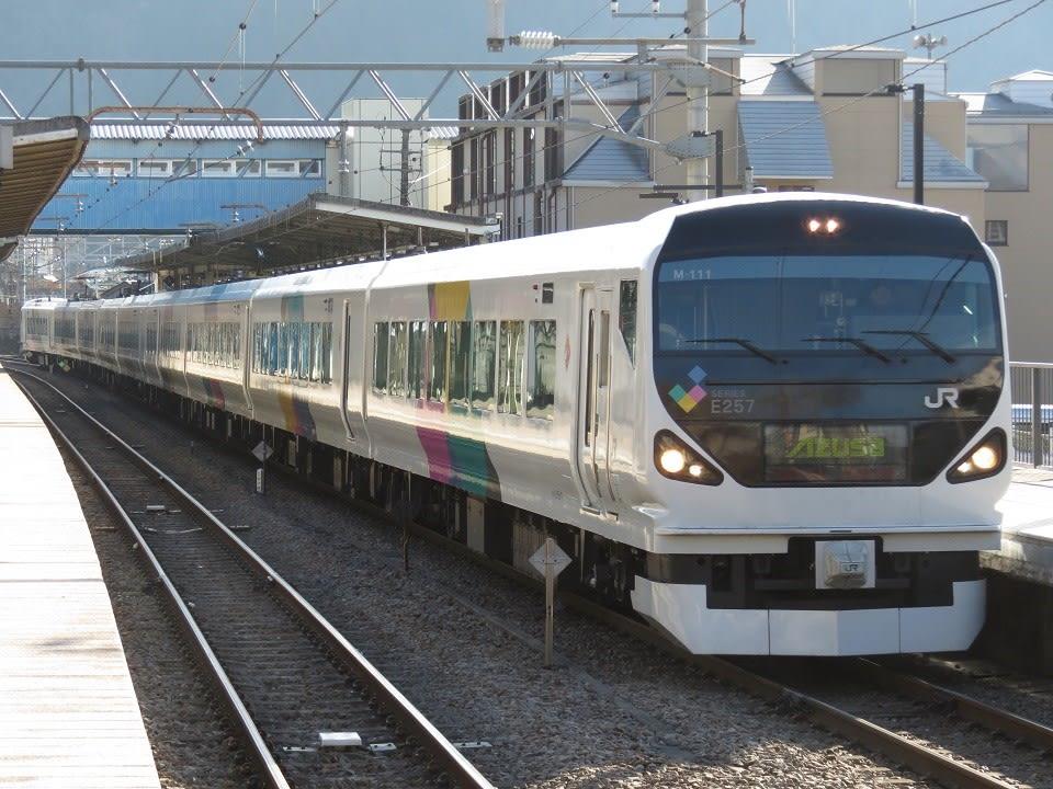 「E257系」のブログ記事一覧(4ページ目)-中央鉄道日報