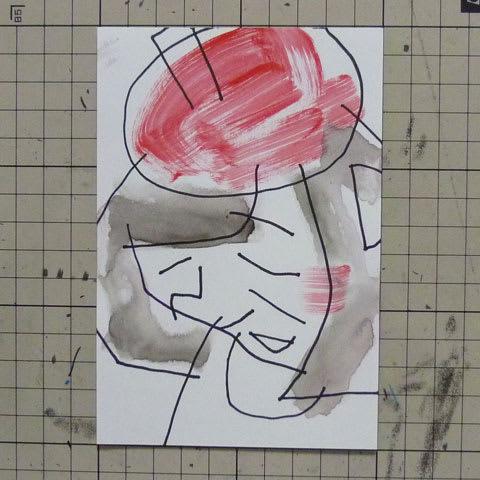 山崎静代似顔絵イラスト画像