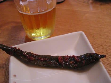 青唐辛子の味噌漬け