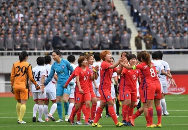 韓国は世界最強の北朝鮮を相手に...
