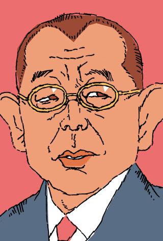 笑福亭鶴瓶師匠の似顔絵イラスト画像