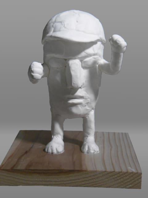彫刻家 日本】「頭足人君・運動会version」【現代アート】 - <彫刻家 ...