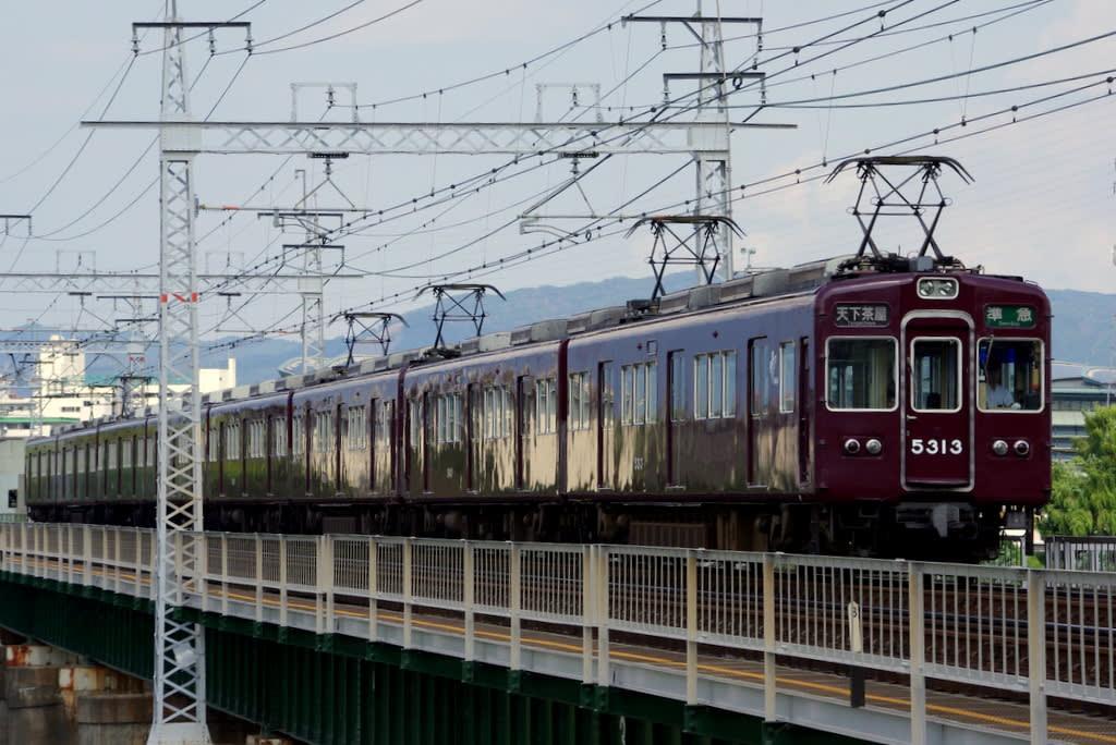 阪急5300系堺筋線直通準急