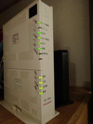 NTT西日本からレンタル中の回線終端装置(ONU)は転用後も継続利用