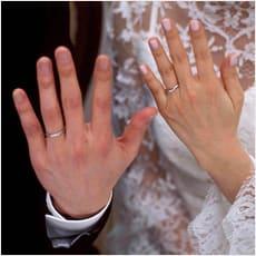 「結婚指輪、つけてますか? ←この記事どう」の質問画像
