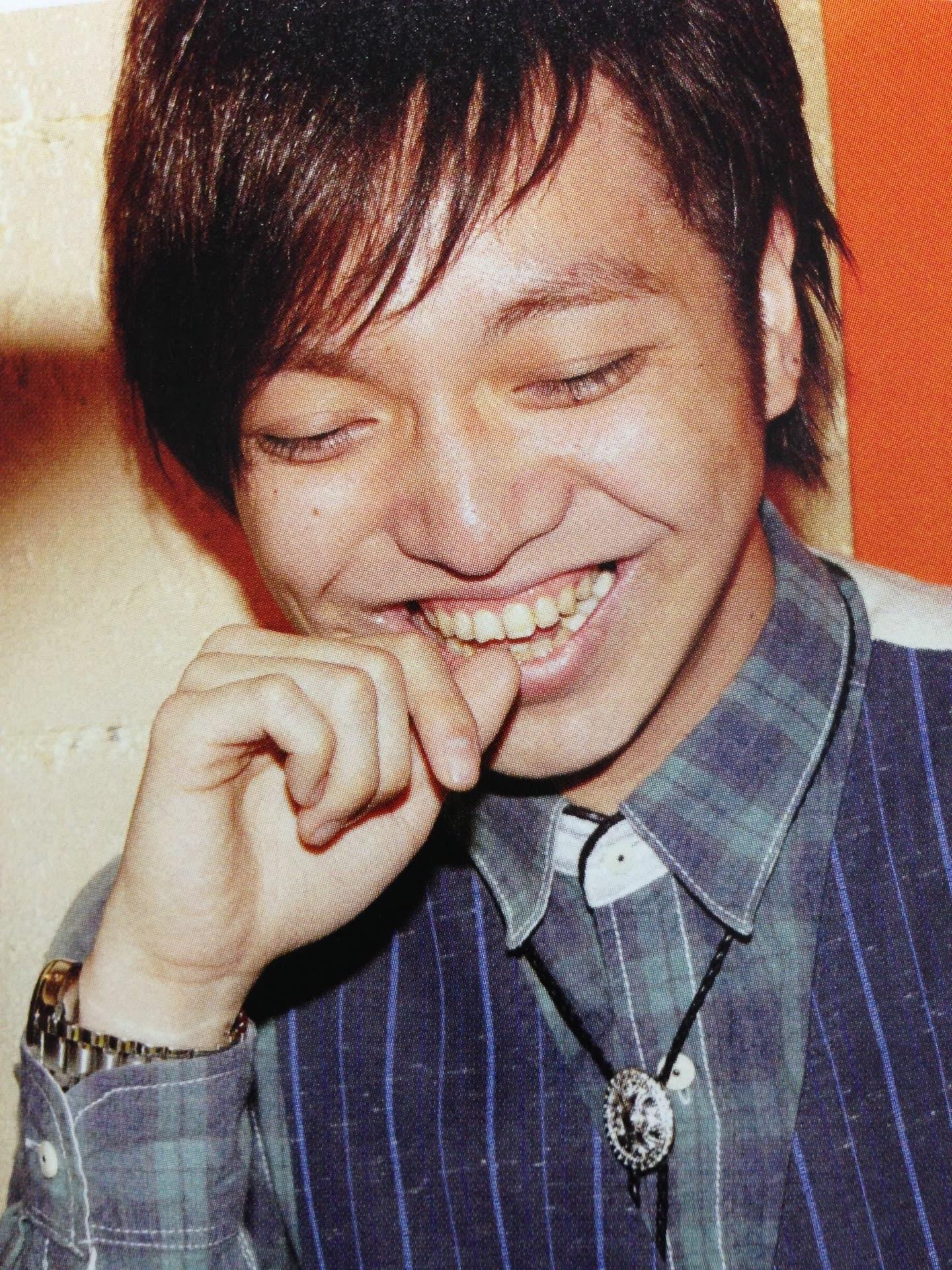 三浦大知の笑顔