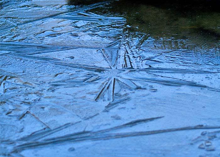 薄氷(うすらい) - その日その...