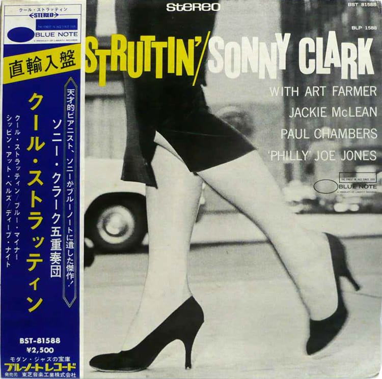"Sonny Clarkの名盤 ""Cool Strutt..."