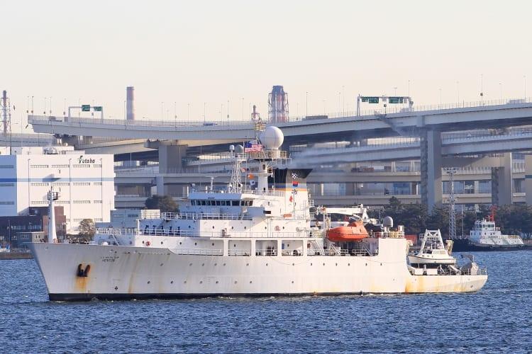 MSC 海洋観測艦 T-AGS-63 「 HEN...