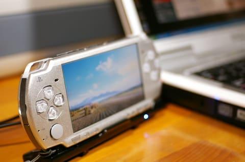 PSP2000で写真アルバム