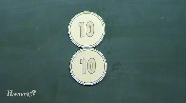 10円玉の回転トリック!? border=