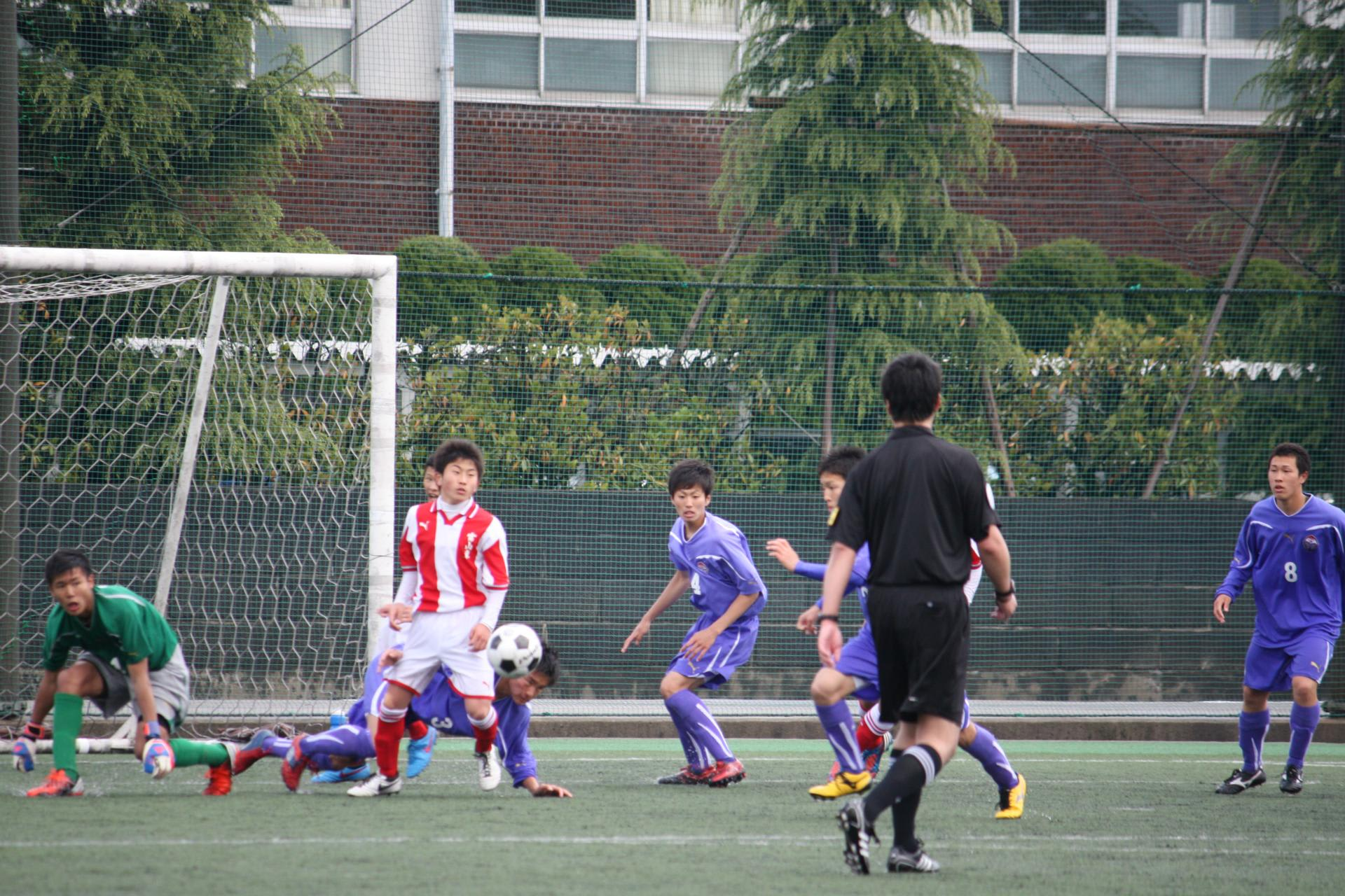 T1・T2リーグ 第2節 試合結果 - 富山第一高校サッカー部 TOMIICHI FC 2013
