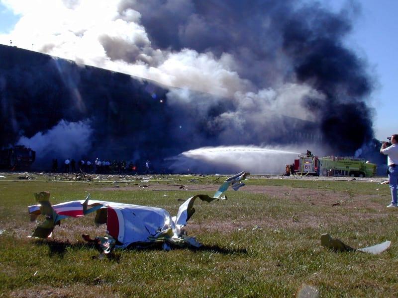 Flight_77_wreckage_at_pentagon1