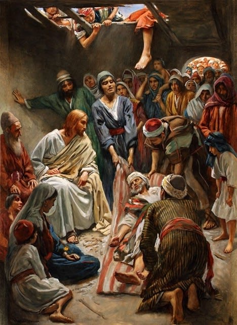 癒すキリスト」 マルコによる福...