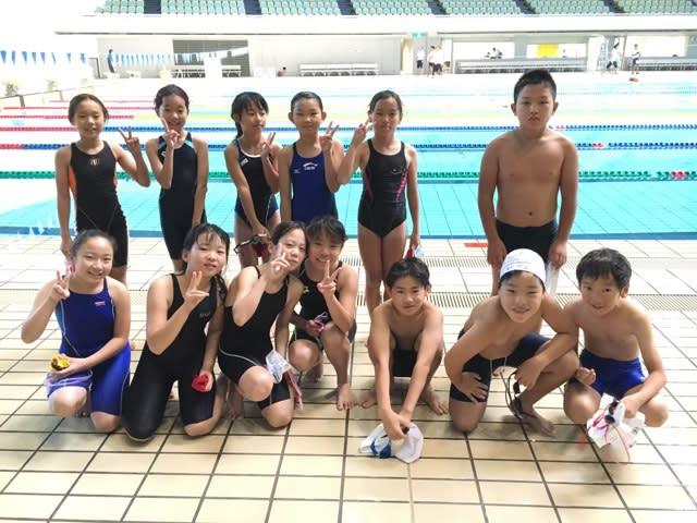 水泳記録会 - きんちゃんしょう...