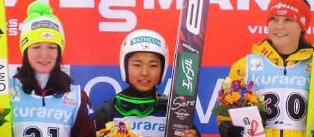 高梨沙羅> スキージャンプW杯、...