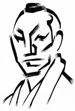 東山紀之似顔絵イラストレーション画像