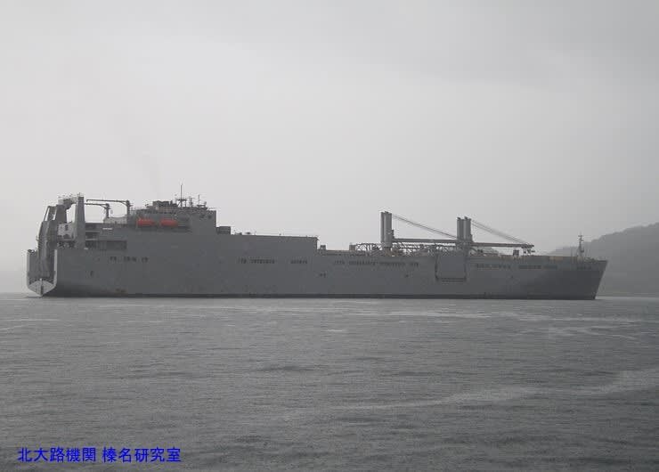 米海軍ワトソン級車両貨物輸送艦...
