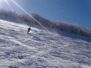スキー場。写真日和。
