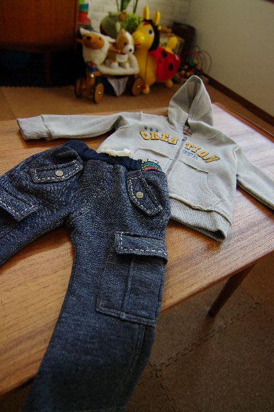 レモンで買った赤ちゃんの服