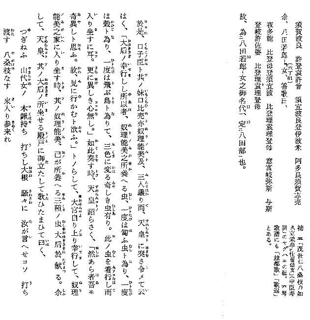 古事記』の「やがはえ」(3) - 好...