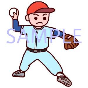野球のイラスト保育学校 素材屋イラストブログ