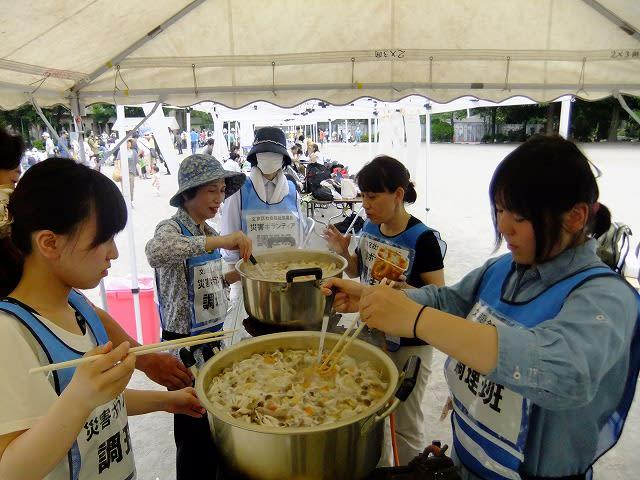 炊き出し訓練 - 東洋大学学生ボランティアセンター