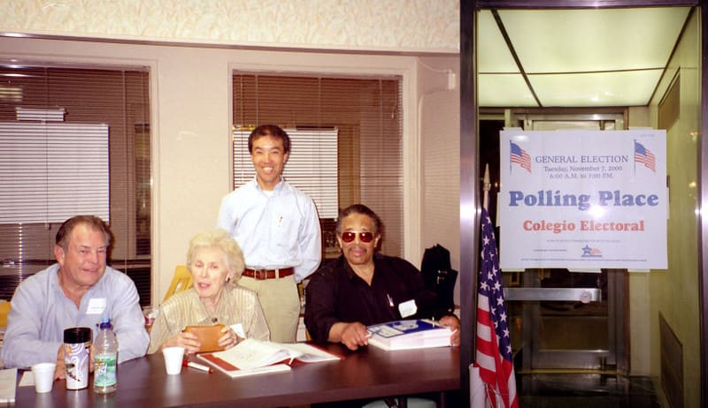 Jackie_in_polling_place_2000preside