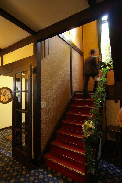 レストランTERAKOYAの階段