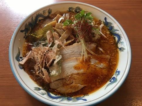 麺やダイニングきかん棒(4)の赤い節中華(大辛)・800円☆