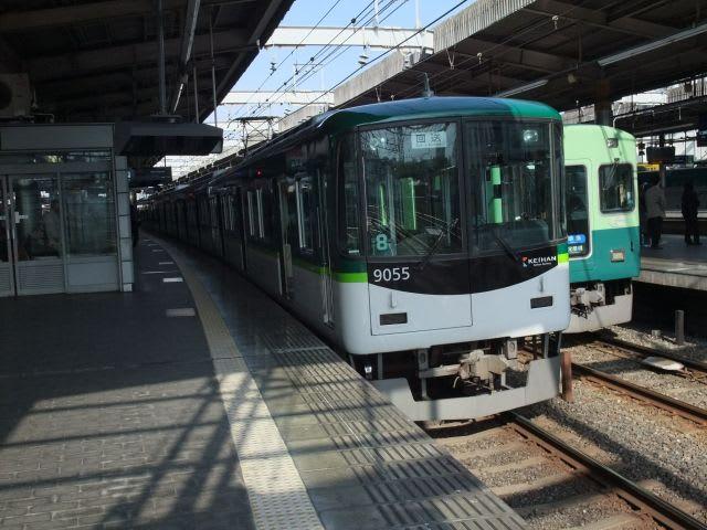 京阪9000系ロングシート車