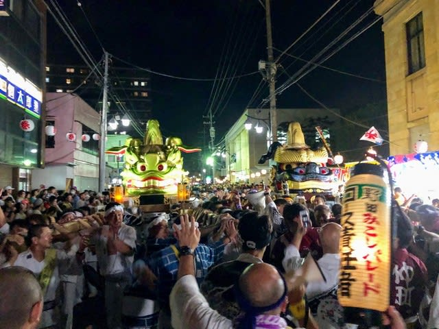 野田みこしパレード2019