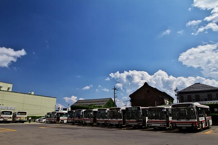夏の思い出 2013 小樽 / 美園アイスクリーム - 青空と大地の中で