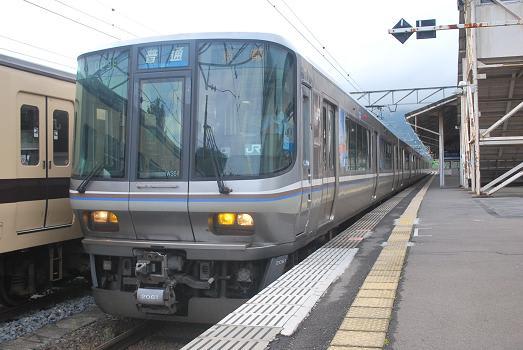 草津線の223系 - 斬剣次郎の鉄道...