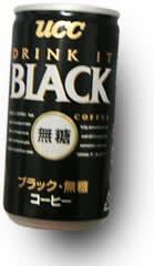UCC_BLACK無糖コーヒー