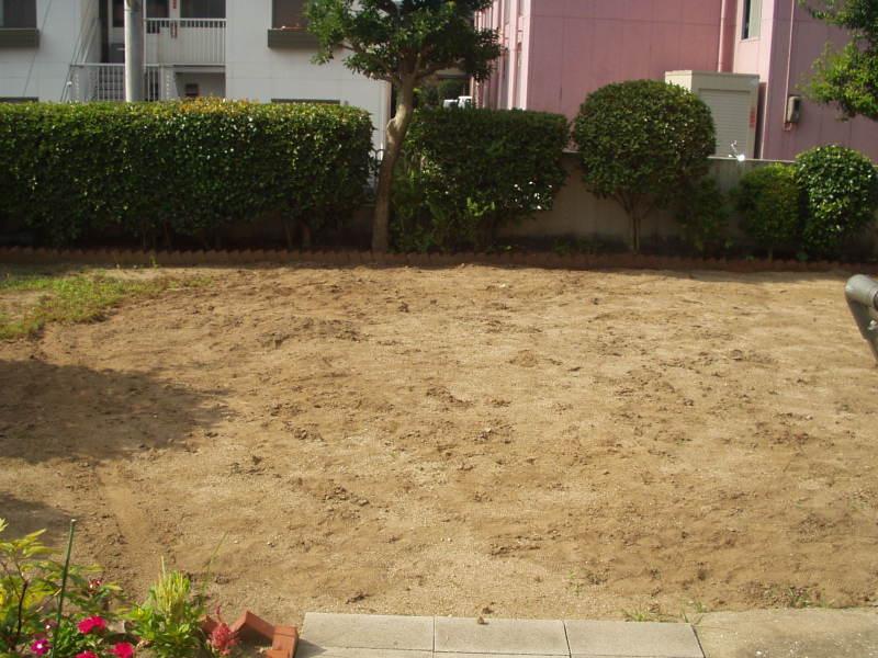 庭園改修現場1