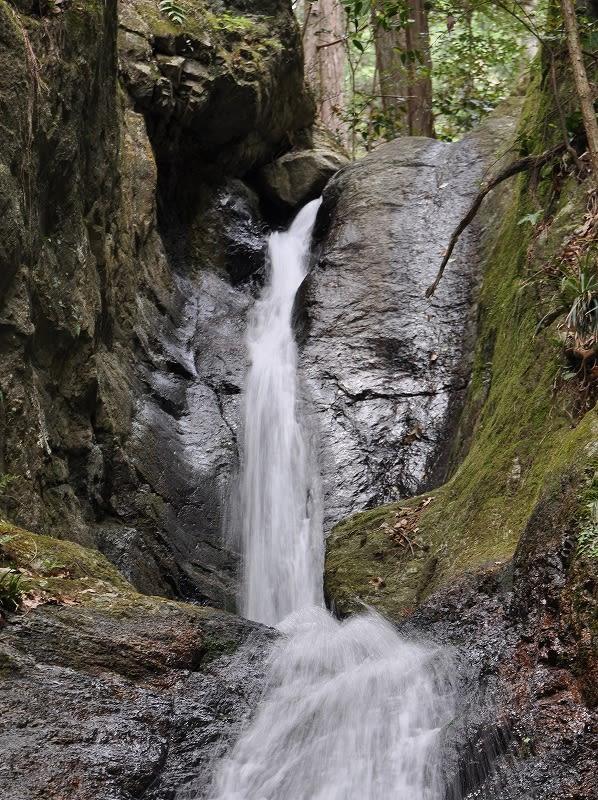 龍門の滝上段