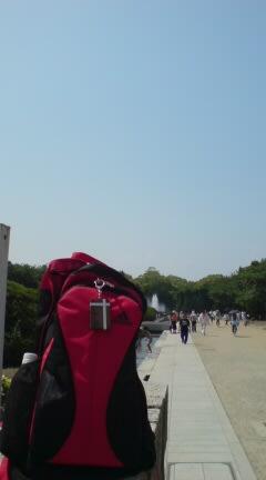 walk />  大阪城