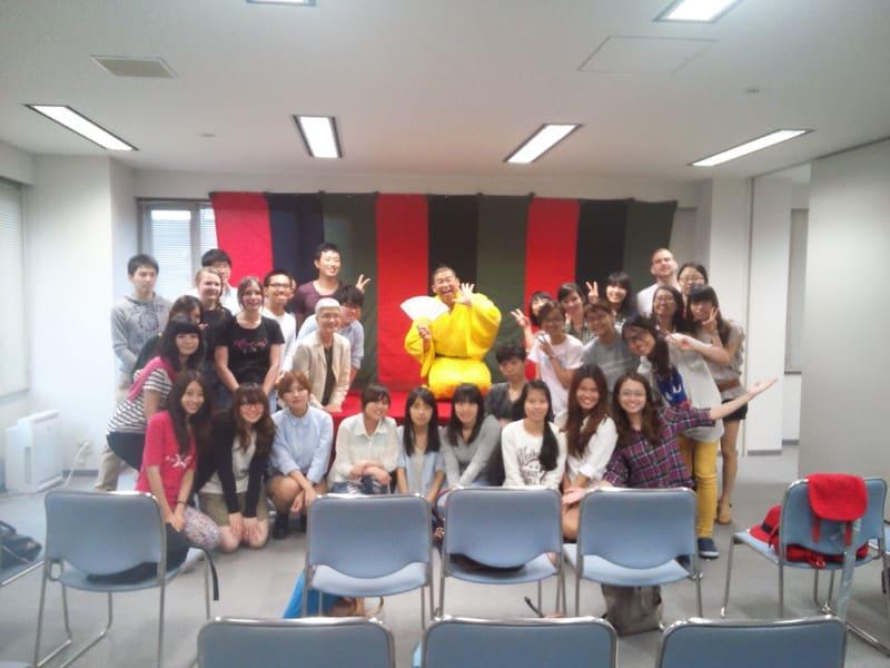 母校、関西大学で落語会!